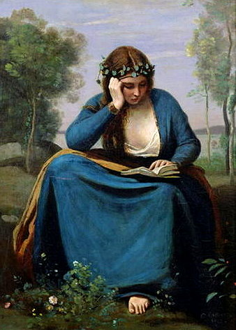 the-reader-crowned-with-flowers